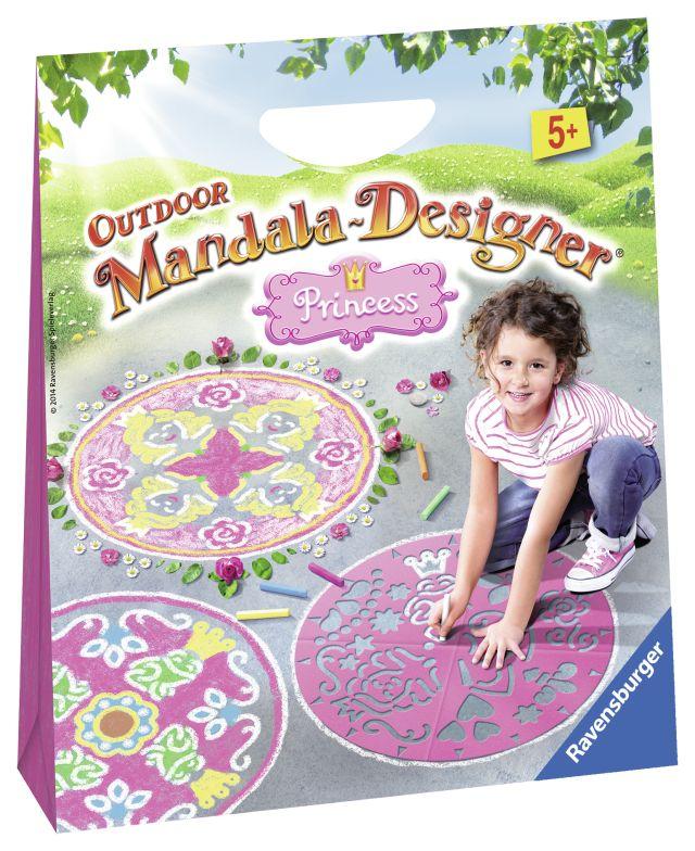 Set creativ mandala,exterior,Princess,5+