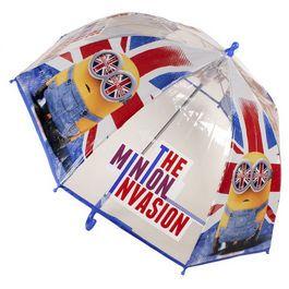 Umbrela transparenta,45cm,Minions