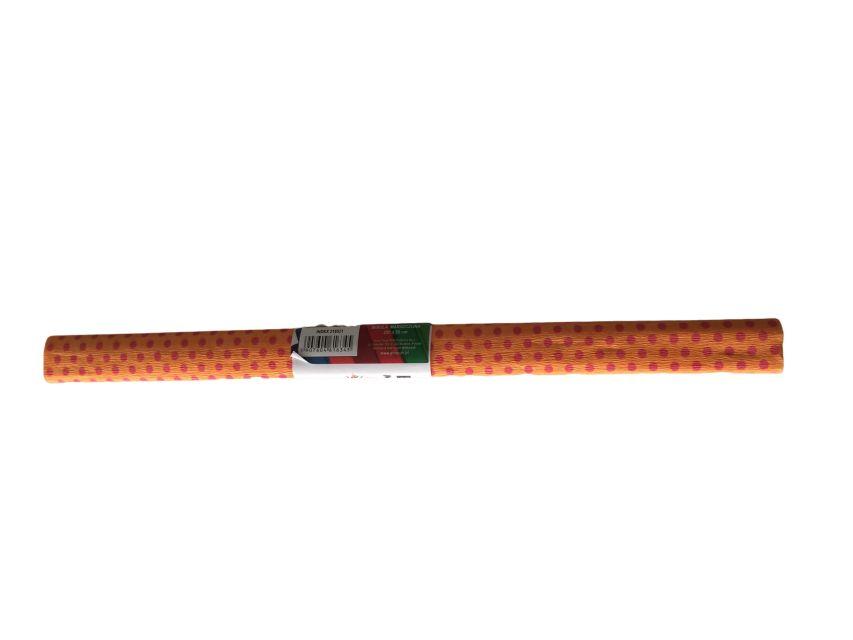 Hartie creponata,50x200cm,puncte