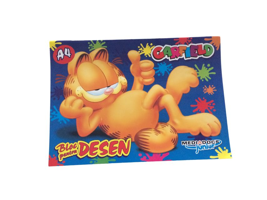 Bloc desen A4,Garfield