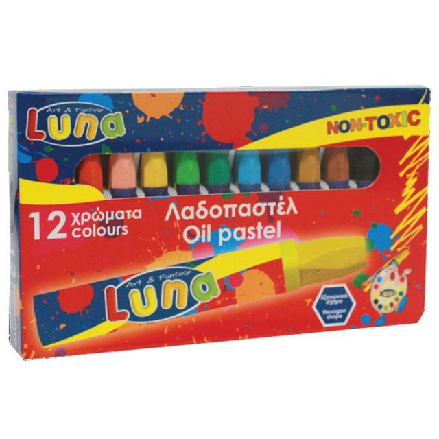 Creioane cerate,12buc/buc,baza ulei,Luna