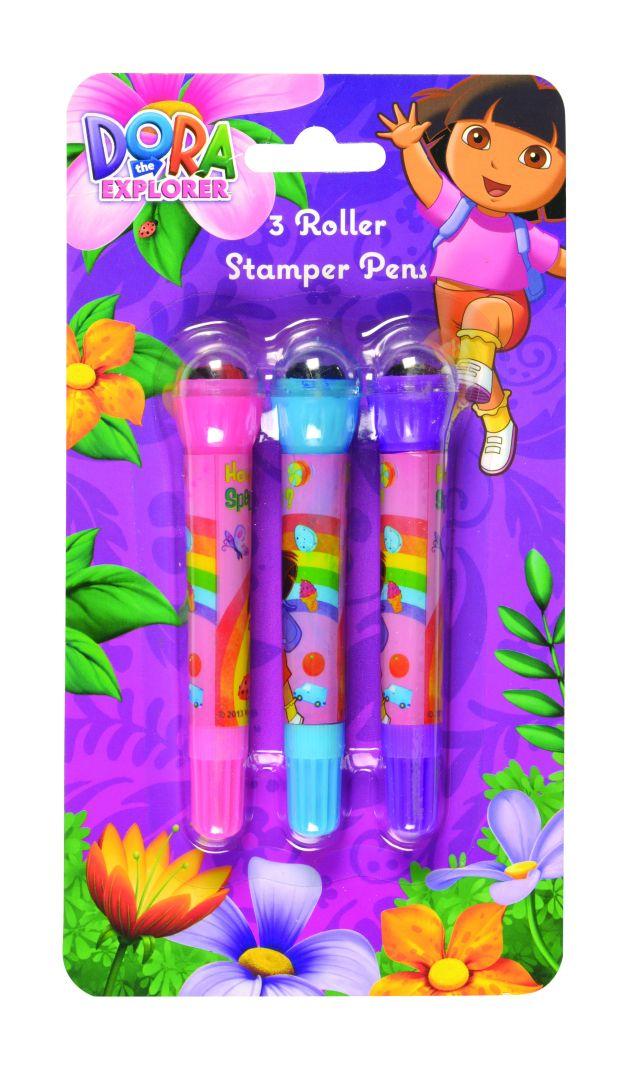 Pix cu stampila,3buc/set,Dora