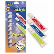 Tempera Luna,7.5ml/tub,12culori