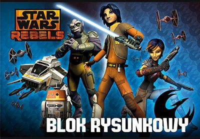 Bloc desen A4,20file,StarWars Rebels