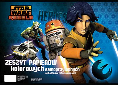 Hartie glasata autoadeziv B4,8file,StarWars Rebel