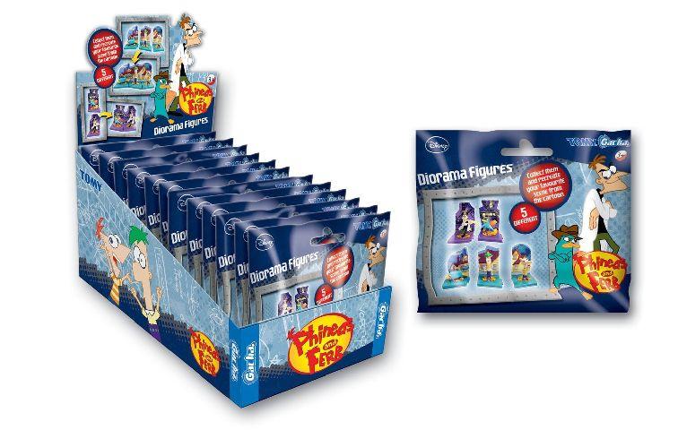 Figurina Disney,Phineas&Ferb,5 mod