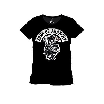 Sons Of Anarchy T-Shirt SOA Reaper Size L