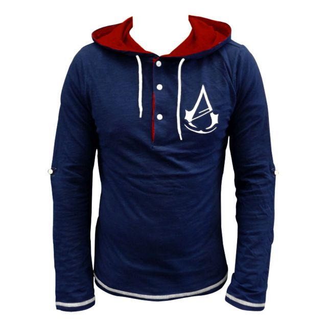 Assassin´s Creed Unity Long Sleeve with Hood Logo Size L