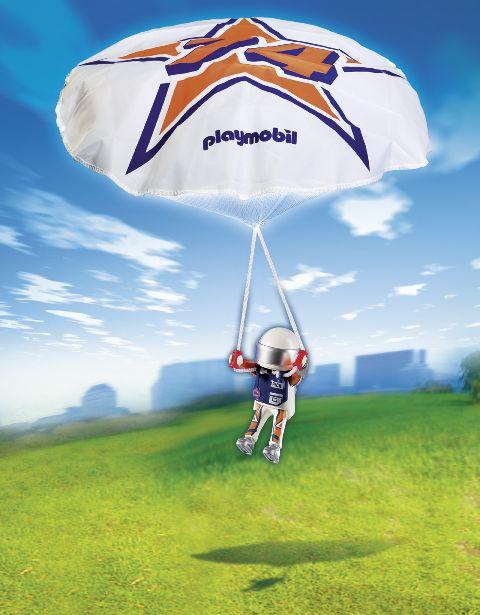 Playmobil-Parasutistul rick