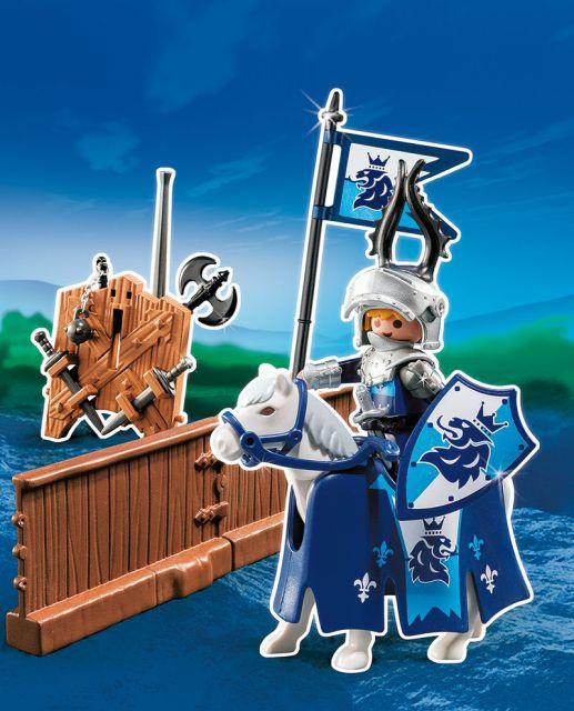 Playmobil-Cavalerul leu