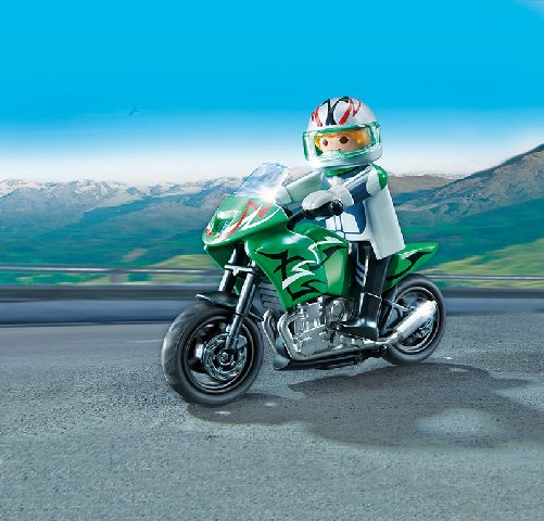 Playmobil-Motocicleta sport
