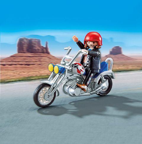 Playmobil-Motocicleta vultur