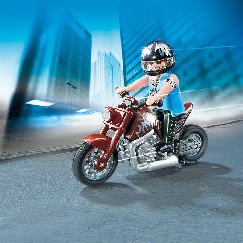 Playmobil-Motocicleta supercool