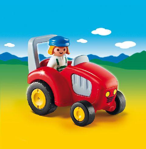 Playmobil-Fermierul si tractorul