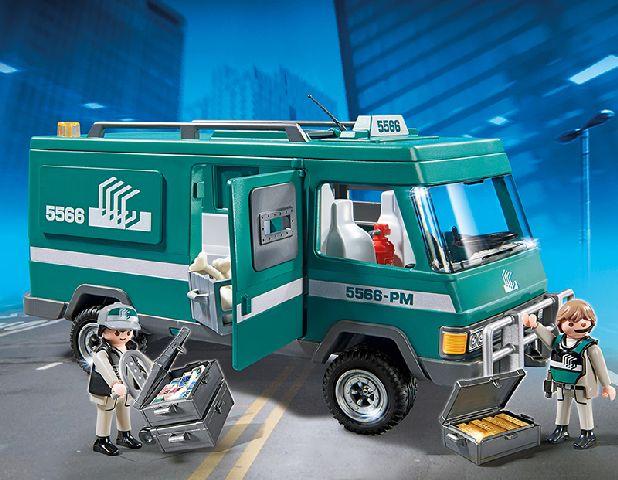 Playmobil-Masina de transportat bani