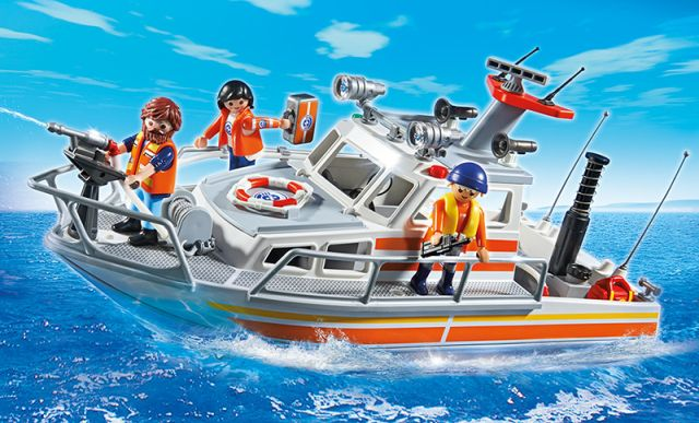 Playmobil-Barca de salvare