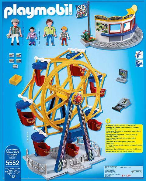 Playmobil-Roata uriasa cu lumini