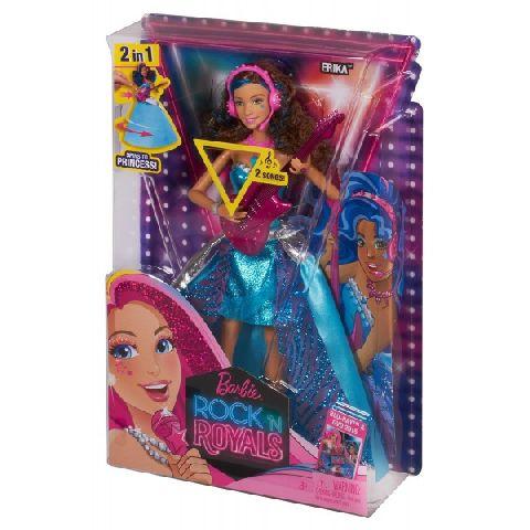 Papusa Barbie,Rock'n Royals,Erika,canta