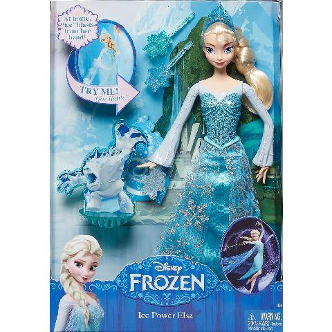 Papusa Disney Frozen,puterea Elsei,set