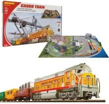 Start set Tren CARGO cu diorama