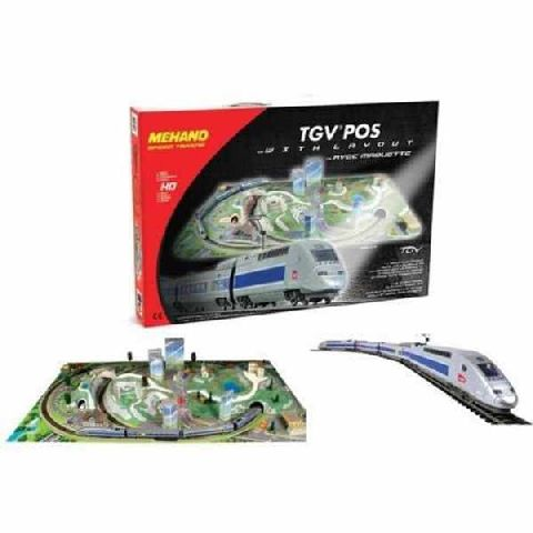 Start set  cu tren TGV si diorama