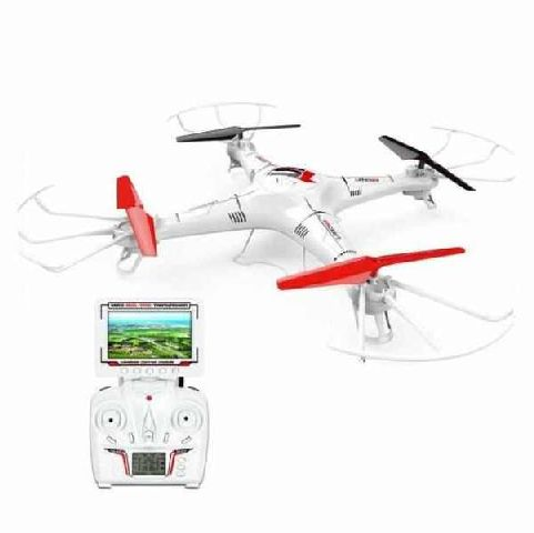 Drona OZN BIG SKY FPV cu camera si Led-uri