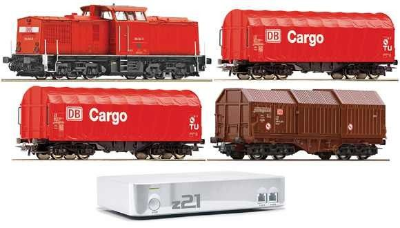 Start Set digital Z21 cu locomotiva diesel  DB 204 AG