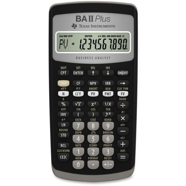 Calculator Financiar cu 24 cash flows, TVM, Bonds, IRR, NPV, statistici, si calcule stiintifice, afi