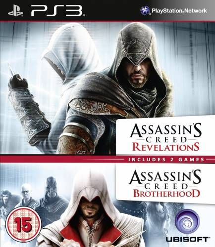 COMPILATION ASSASSINS CREED REVELATIONS & ASSASSINS CREED BROTHERHOOD - PS3