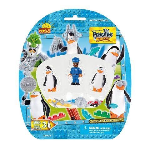 Cobi-Penguins,figurine,3buc/set