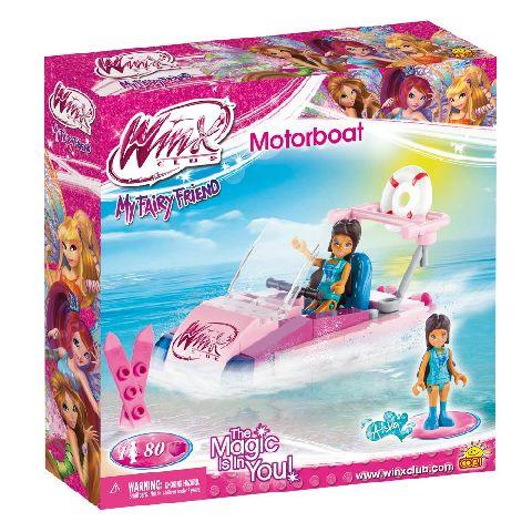 Cobi-Winx,barca cu motor