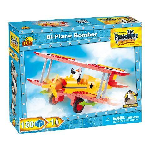 Cobi-Penguins,bombardier biplan