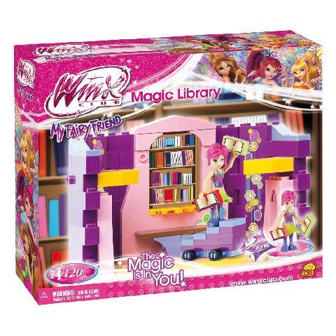 Cobi-Winx,biblioteca magica