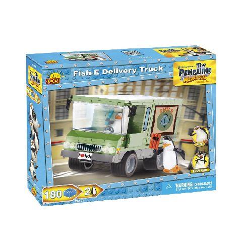 Cobi-Penguins,camion livrare peste