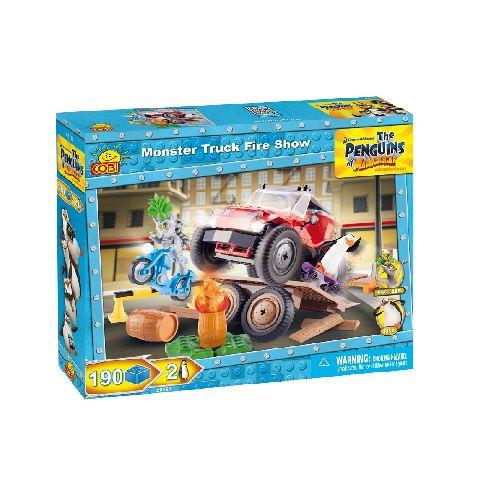 Cobi-Penguins,Monster truck,flacari