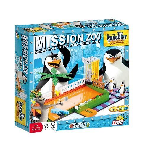 Cobi-Penguins,misiunea Zoo,pt 2 pers