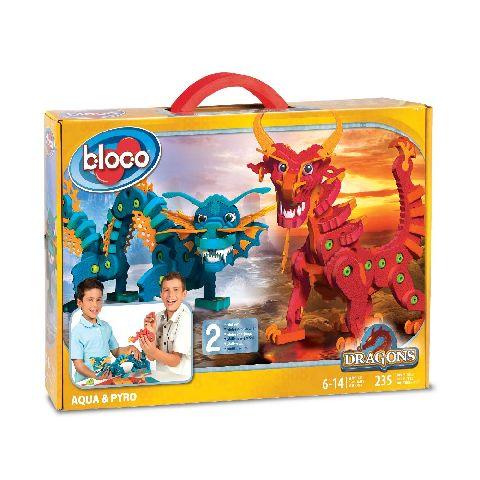 Bloco-dragoni,Aqua si Piro,spuma densa