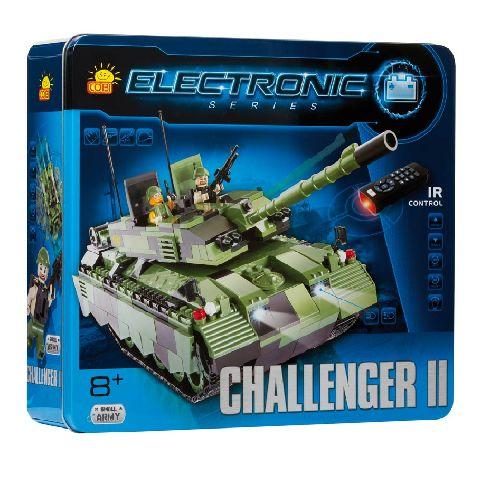 Cobi-constructie tanc Challanger,motor,RC