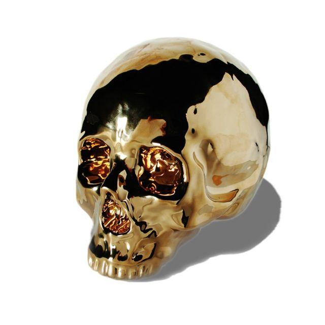 Pusculita craniu, auriu