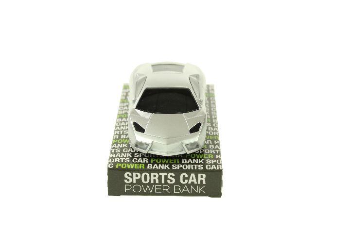 Baterie Portabila Masina Sport, Argintiu