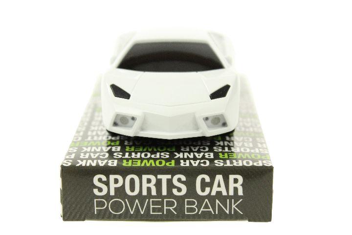 Baterie Portabila Masina Sport, Alb