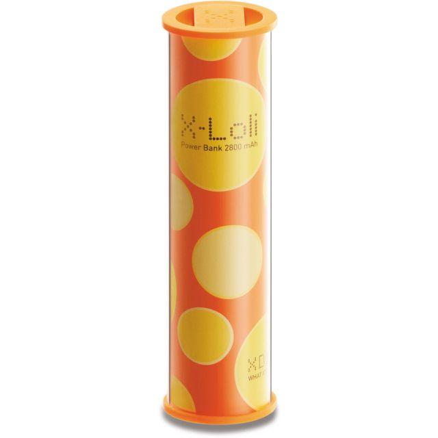 Baterie portabila X-Loli 2800 mAh, portocaliu