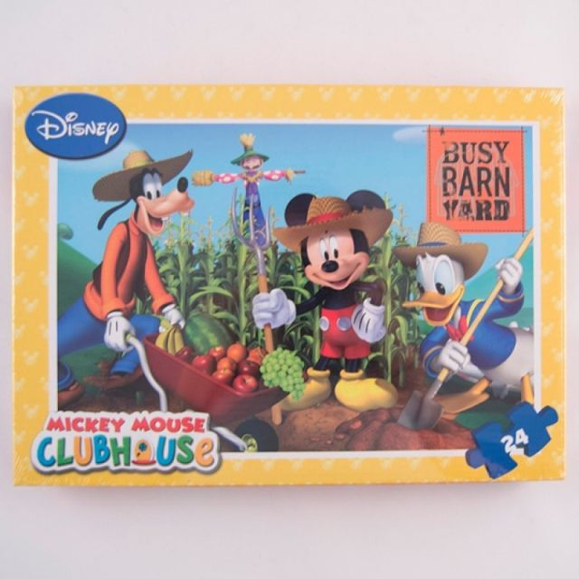 Puzzle 24pcs,coloriaj,Mickey