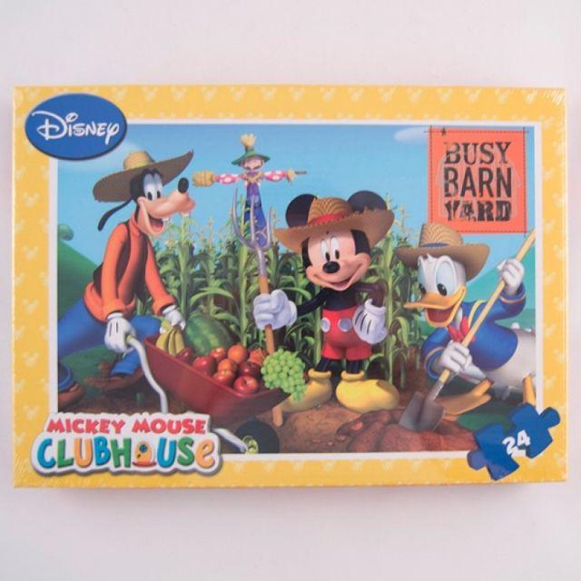 Puzzle 24pcs,coloriaj,Mickey