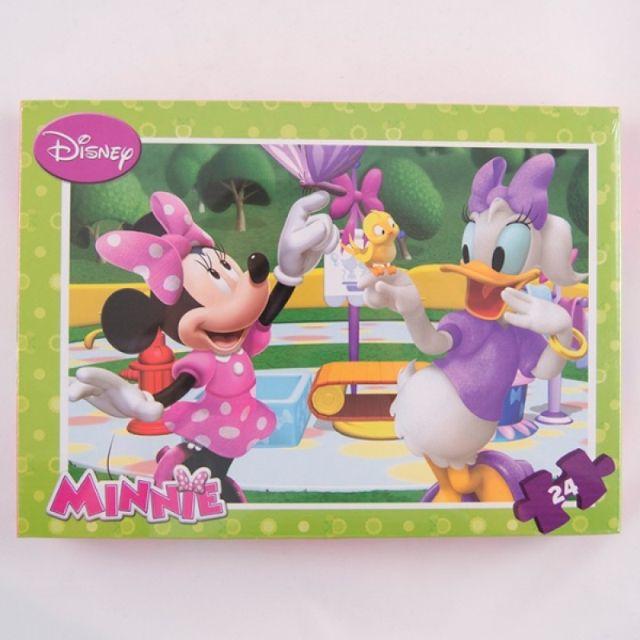 Puzzle 24pcs,coloriaj,Minnie