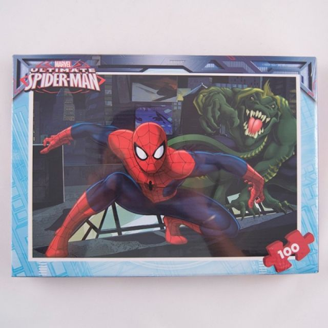 Puzzle 100pcs,coloriaj,Spiderman