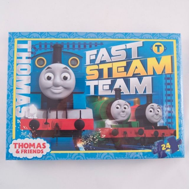 Puzzle 24pcs,coloriaj,Thomas