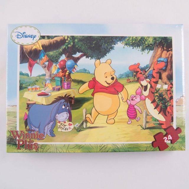 Puzzle 24pcs,coloriaj,Winnie