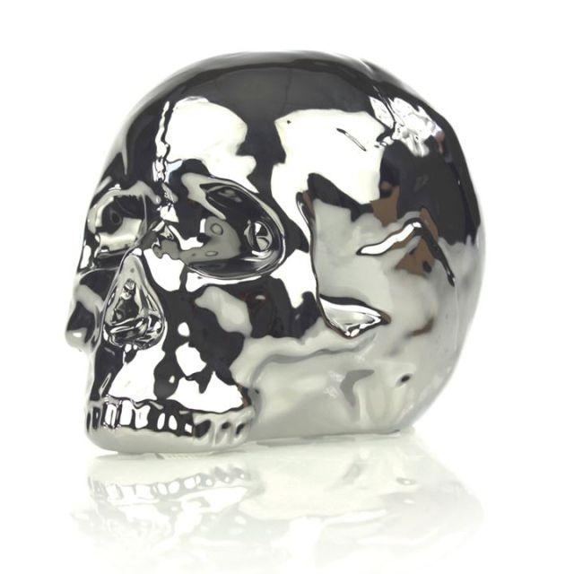 Skull Saving Box Silver