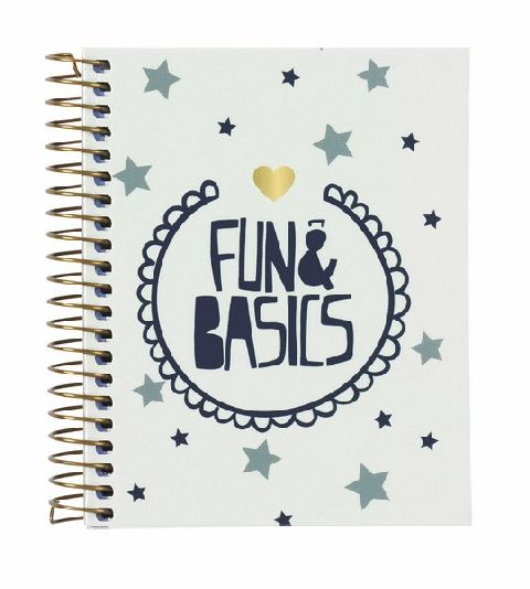 Caiet spira A7,100file,Fun&Basics